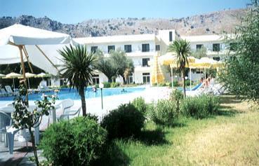 Olive Garden Hotel In Lindos Area Located On Lardos Beach Accommodations In Lardos Village